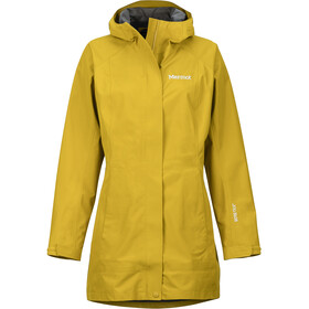 Marmot Essential Jas Dames, golden palm